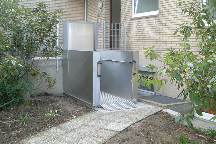 Plattformlifte für Rollstühle Wittdün